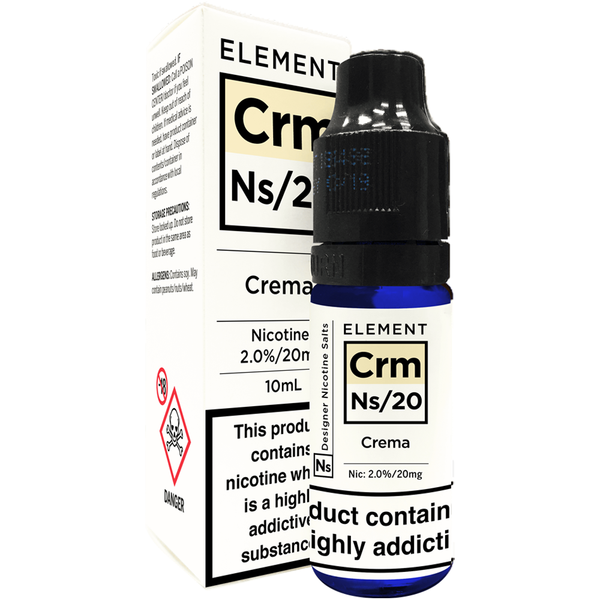 Element Crema Nic Salt 10ml