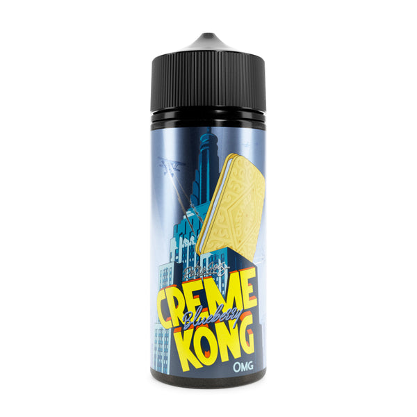 Retro Joes Creme Kong Blueberry 0mg 100ml Short Fill E-Liquid