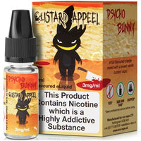 Custard Appel E-Liquid by Psycho Bunny 10ml - TPD Compliant E-Liquid