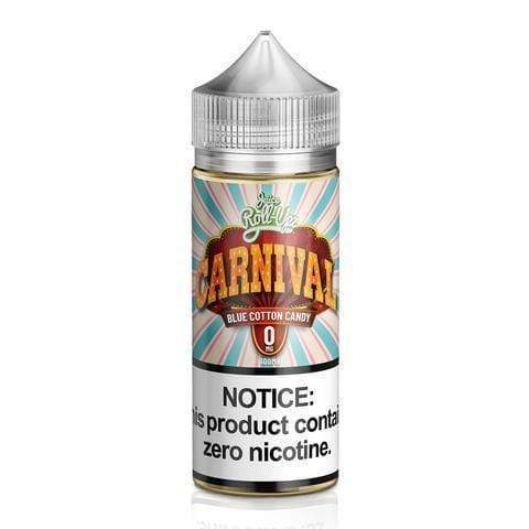 Juice Roll Upz Carnival: Blue Cotton Candy 0mg 100ml E-Liquid