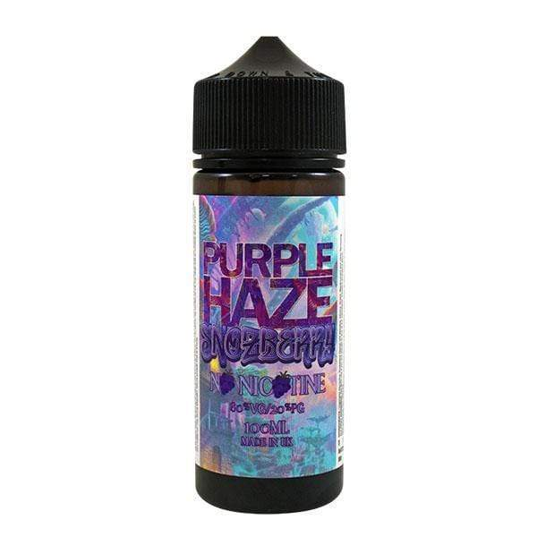 Purple Haze Snozberry 0mg 100ml Short Fill E-Liquid