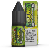 Sour Apple Refresher Nic Salt by Strapped 10ml
