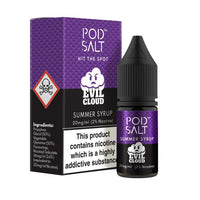 Pod Evil Cloud Summer Syrup Nic Salt by My Vapery 10ml