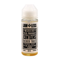 Warning - French Toast E-liquid by Law Less 100ml Short Fill - Short Fills