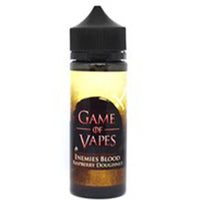 Game Of Vapes Enemies Blood Raspberry Doughnut 50:50 0mg 100ml Shortfill