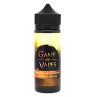 Game Of Vapes Swords Of Honour Tropical Breeze 0mg 100ml Shortfill