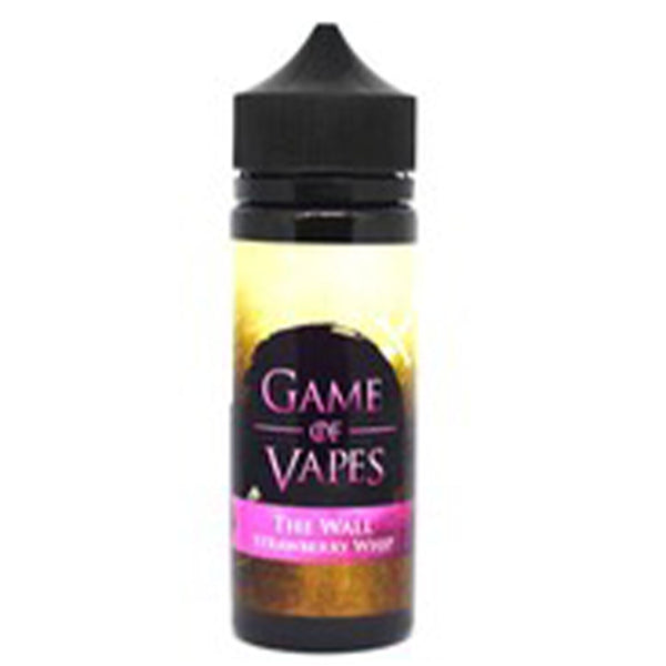 Game Of Vapes The Wall Strawberry Whip 50:50 E-Liquid 0mg Shortfill 100ml
