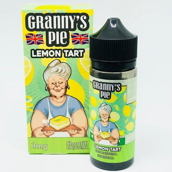 Granny's Pie Lemon Tart 100ml Short Fill - 0mg