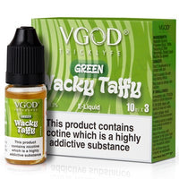Green Wacky Taffy E-Liquid by VGOD 10ml - TPD Compliant E-Liquid