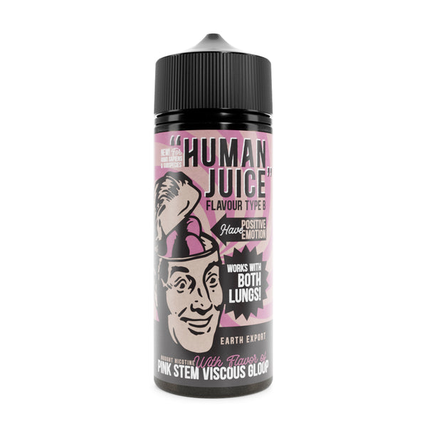 Joe's Juice Human Juice: Pink Stem Viscous Gloop 0mg 100ml Short Fill E-Liquid