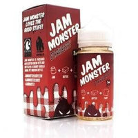 Jam Monster Strawberry 100ml Short Fill - 0mg