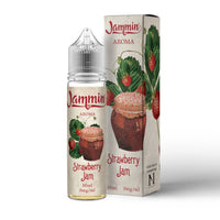 Strawberry Jam E-Liquid by Jammin 50ml Short Fill