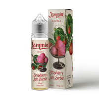 Strawberry Jam Sorbet E-Liquid by Jammin 50ml Short Fill