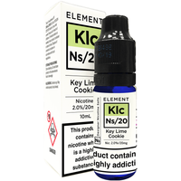 Key Lime Cookie Nic Salt by Element 10ml