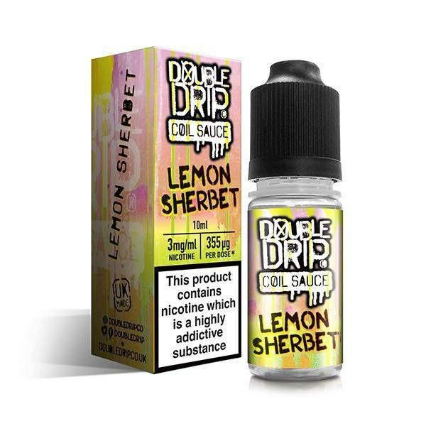 Lemon Sherbet Coil Sauce By Double Drip Tpd Compliant E-Liquid 10Ml - E-Liquid