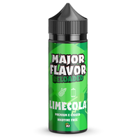 Major Flavour Limecola 0mg 100ml Short Fill E-Liquid