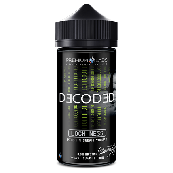 Premium Labs Decoded: Loch Ness E-liquid 100ml Short Fill