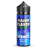 Major Flavour Berriez 0mg 100ml Short Fill E-Liquid