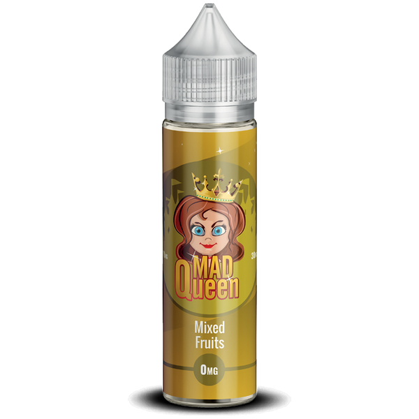 Mad Queen Mixed Fruits E-Liquid 50ml Short Fill