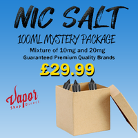 Nic Salts 100ml Mystery Package