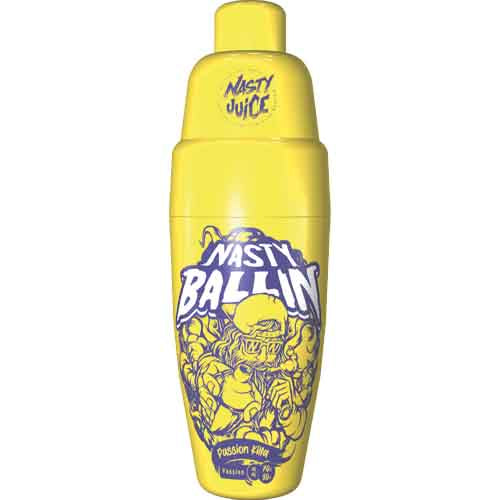 Nasty Juice Nasty Ballin: Passion Killa 0mg Short Fill - 50ml