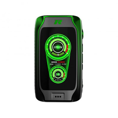 Rev Phantom 220w Mod Black/Green - Vapor Shop Direct
