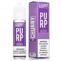 Purp E-Liquid by Chubby Vapes 50ml Short Fill