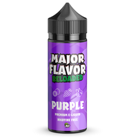 Major Flavour Purple 0mg 100ml Short Fill E-Liquid