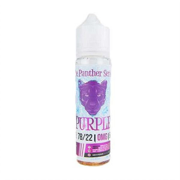 Dr Vapes Purple Panther Ice E-liquid 50ml Short Fill