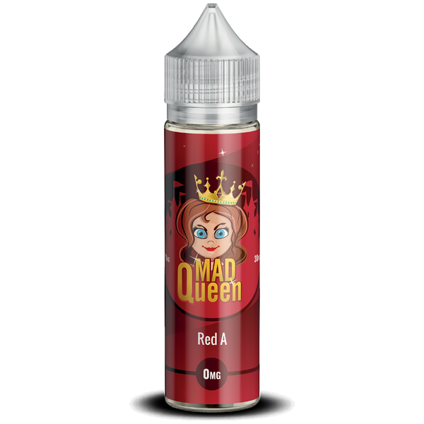 Red A E-Liquid by Mad Queen 50ml Short Fill