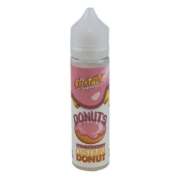 Strawberry Custard Donut By The Custard Company 0Mg Short Fill - 50Ml - Nic Shots