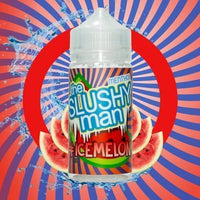 The Slushy Man Ice Melon 100ml Short Fill - 0mg