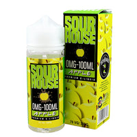 Sour Apple E-liquid by Sour House 100ml Short Fill