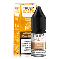 True Salts Straight Tobacco 10ml Nic Salt