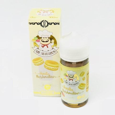 Vanilla Marshmallow By Mr. Macaron 0Mg Shortfill - 100Ml - Nic Shots