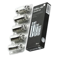 Ccell-gd Ceramic Coils by Vaporesso Ss 0.6ohm (5pcs)