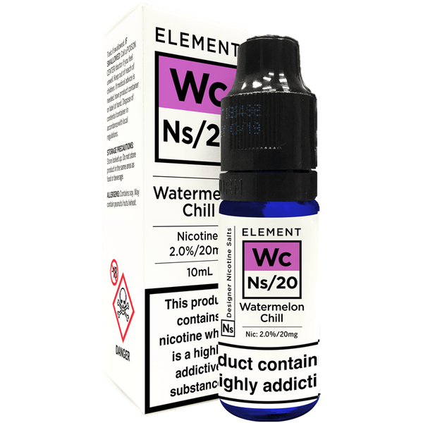 Element Watermelon Chill Nic Salt 10ml