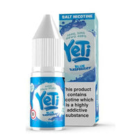 Yeti Blue Raspberry 10ml Nic Salt