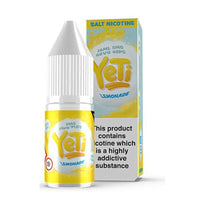 Yeti Lemonade 10ml Nic Salt
