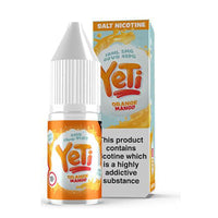 Yeti Orange Mango Nic Salt 10ml 20mg