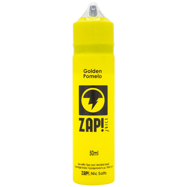 Zap! Golden Pomelo 0mg 50ml Short Fill E-Liquid