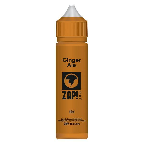 Zap! Juice Ginger Ale E-Liquid 50ml Short Fill
