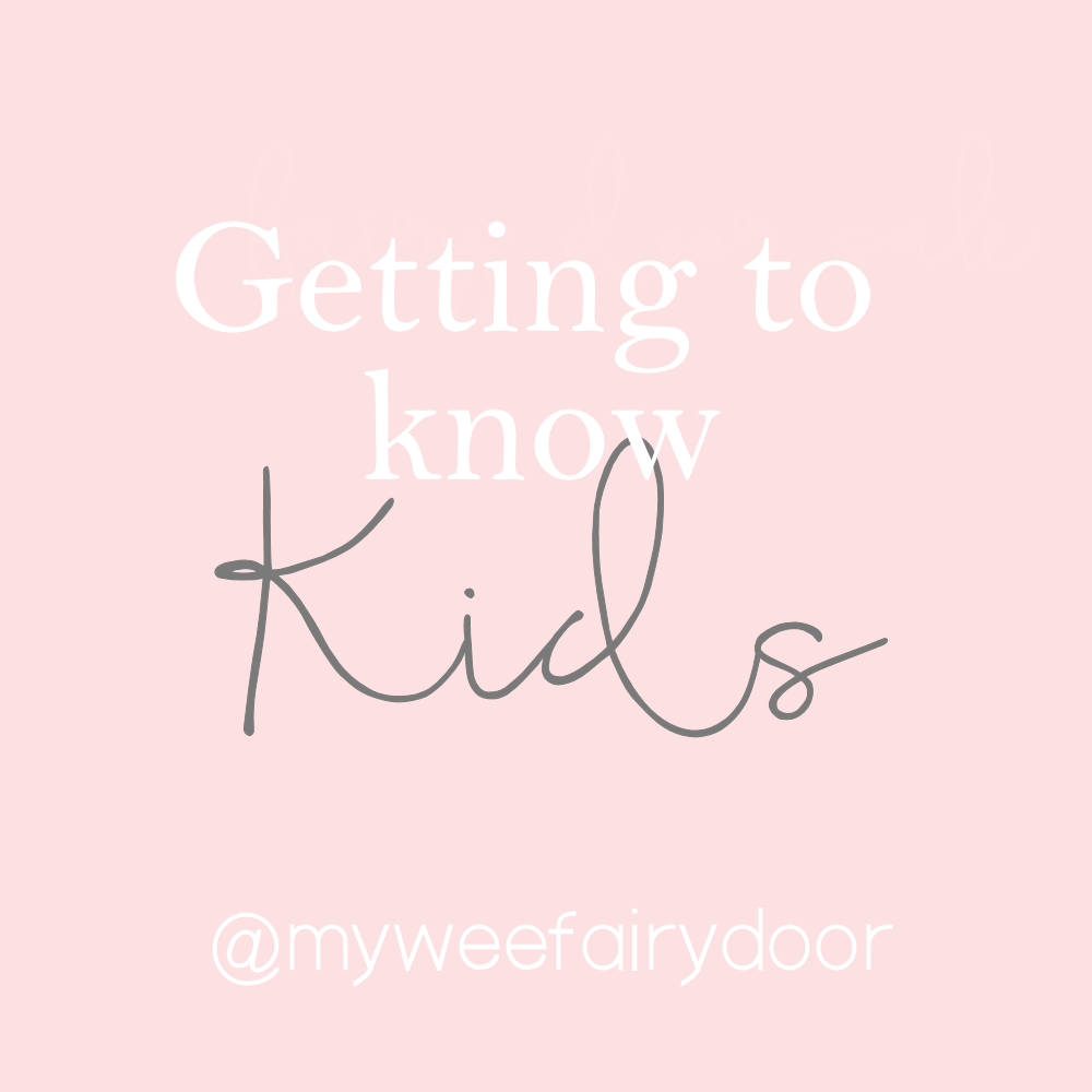 Getting to Know Your Kids
