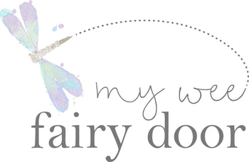 my wee fairy door logo
