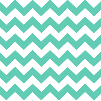 Chevron Mint Gift Wrap