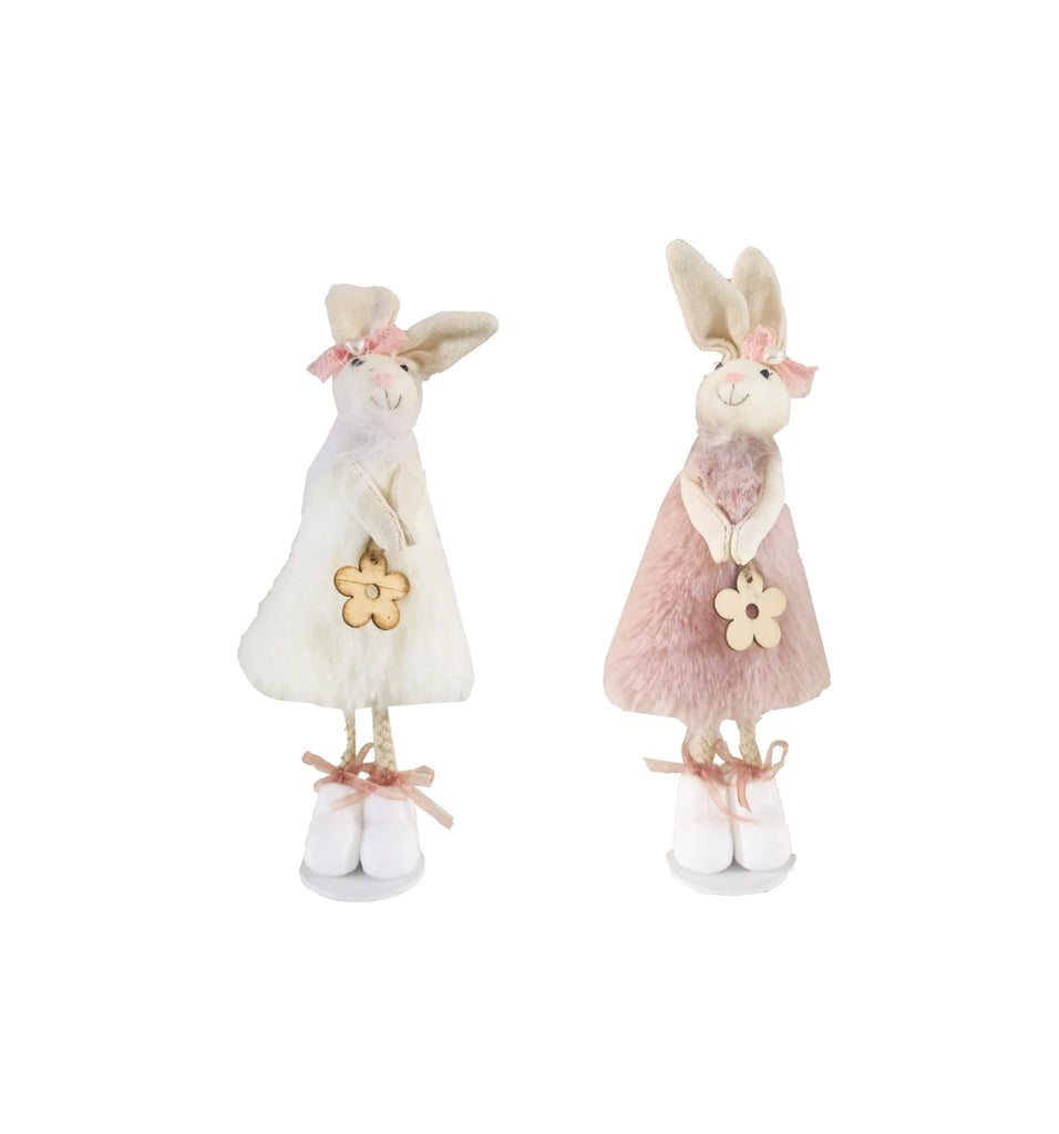 Ester Bunny Sisters - Ivory and Blush