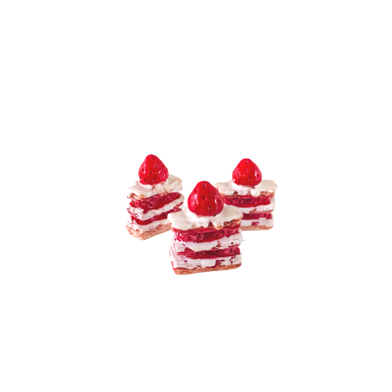 Strawberry Shortcake - Pk of 3