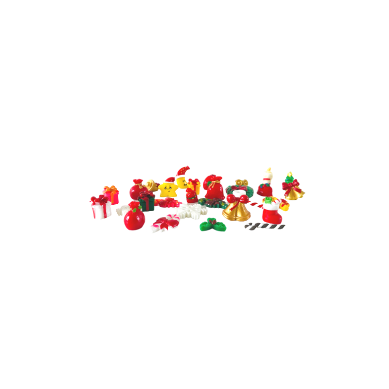 Christmas Decorations - Pk of 6