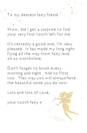 The Tooth Fairy Accessory Set