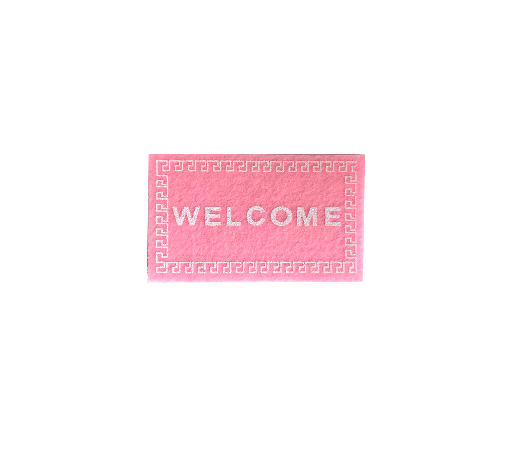 Welcome Mat - Pink